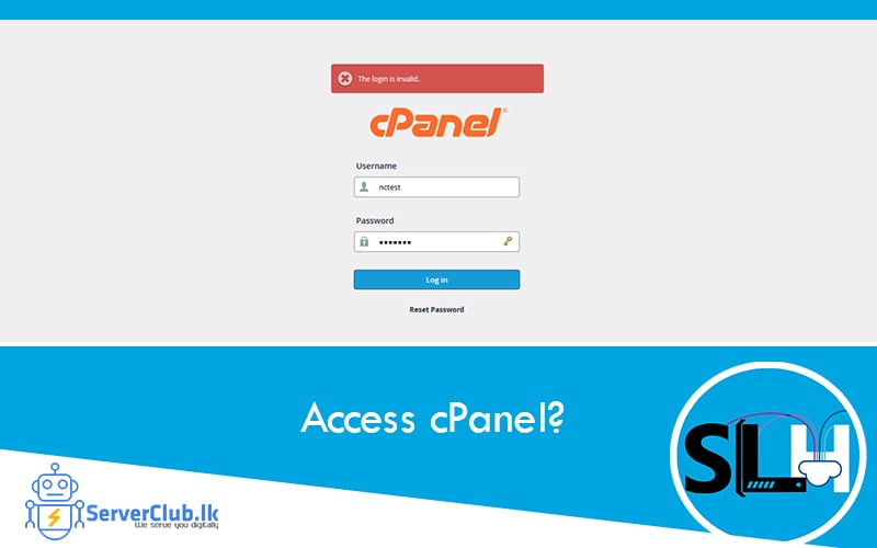 How do I access cPanel?