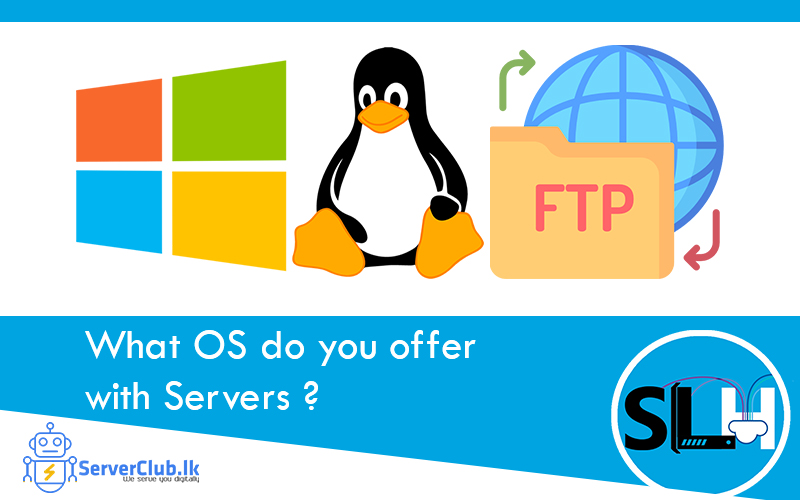 What OS do you offer with Servers?
